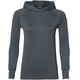 asics Thermopolis LS Hoodie Women Carbon Heather